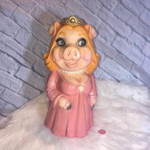 Other - Vintage 1980 Miss Piggy Money Bank